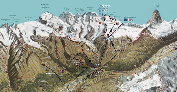Zermatt Lifts: Information on Tickets, Timetables & Prices on
