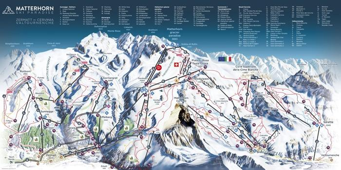 Zermatt Ski Resort: Panoramic Piste Map Zermatt on austria ski map, grenoble ski map, cervinia trail map, innsbruck ski map, switzerland on world map, valle nevado ski map, alta ski map, verbier ski map, soelden ski map, leysin ski map, new england ski map, hintertux ski map, switzerland on europe map, chamonix ski map, titlis ski map, torgon ski map, zugspitze ski map, matterhorn switzerland map, grindelwald ski map, tyrol ski map,