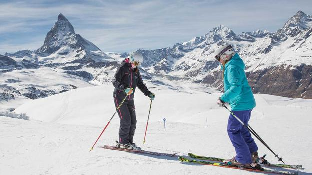 Image result for skiing in zermatt