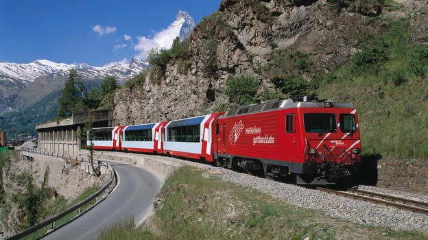Convenient travel to Zermatt by train
