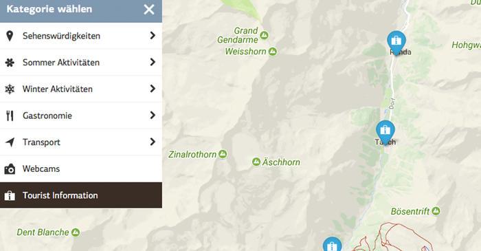 Interactive Map | Zermatt, Switzerland on
