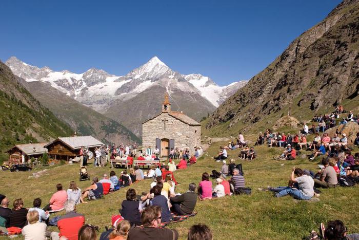 course a pied zermatt