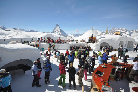 Zermatt Igloo Village