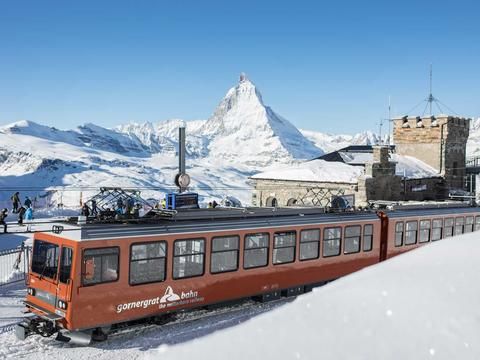 Highest outdoor railway station in Europe