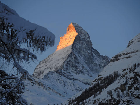 Most-photographed mountain in the world