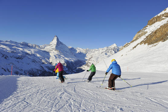 The Zermatt ski resort gained top marks in the independent survey and is therefore Best Ski Resort in the Alps 2014/2015.