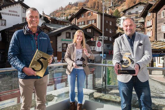 Zermatt ist das beste Skigebiet der Alpen 2020