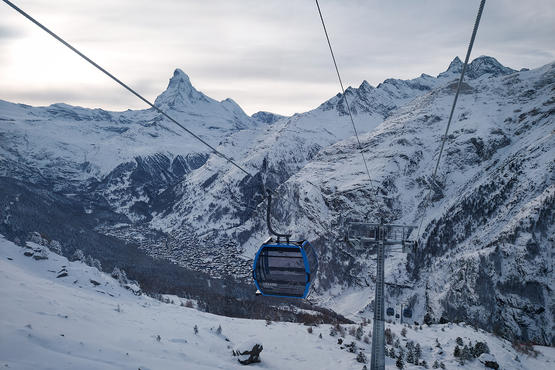 Switzerland's first autonomous gondola lift opens in Zermatt