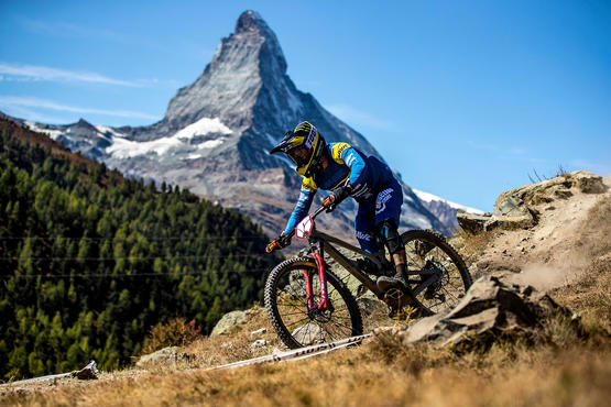 The best enduro riders in the world competed in the Enduro World Series mountain bike championships.