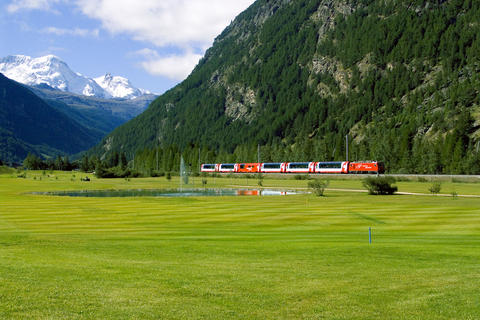 Glacier Express as a Fantastic Short Experience