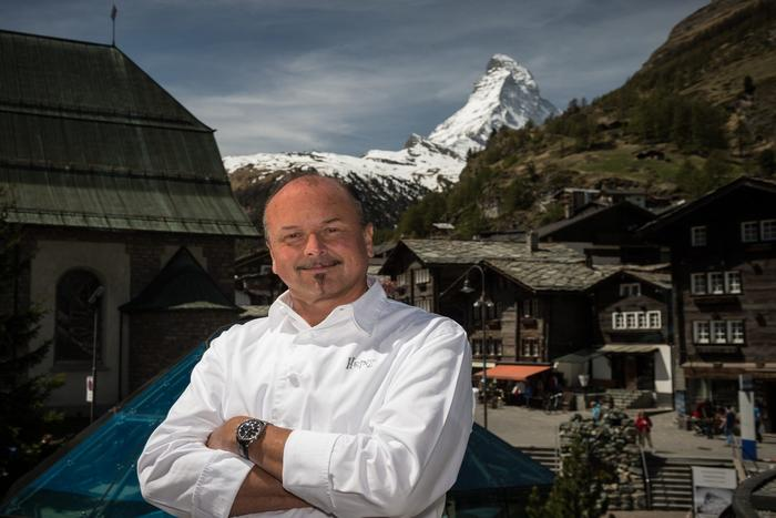 Gault Millau chef Heinz Rufibach returns to the Zermatterhof.