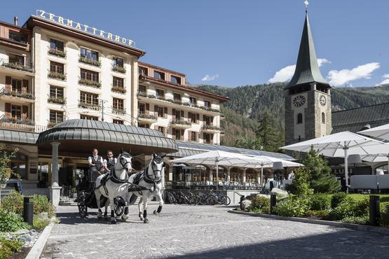 This year, the Zermatterhof leapt seven places in the ranking.