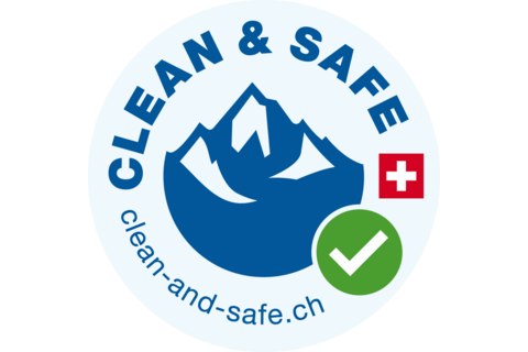 Label «Clean & Safe»