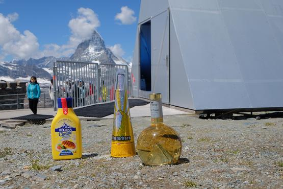 Whether clarified butter, fireworks or liqueur – the Matterhorn must have its place.