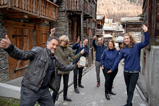 Zermatt is happy to receive the milestone.