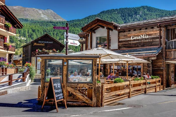 CasaMia brings a magical touch of Italy to Zermatt.