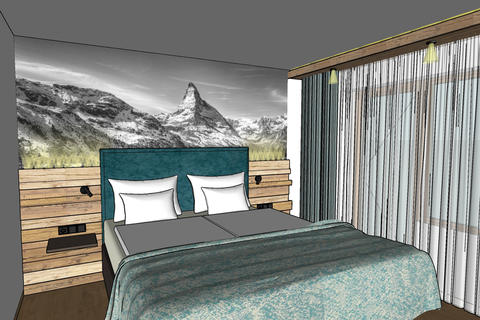 New rooms and terrace at Hotel Hemizeus
