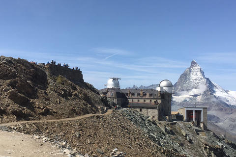 Gornergrat with new Hiking Trail
