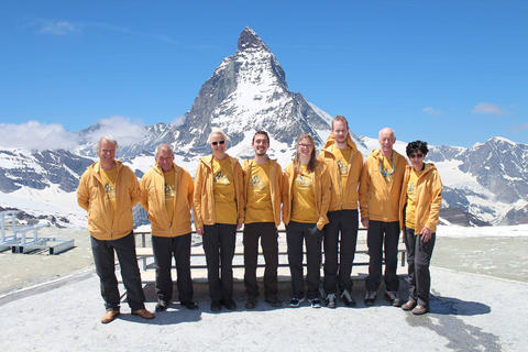 New Guides at Gornergrat