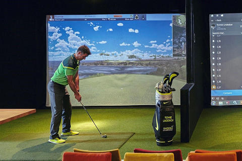 Neues Indoor-Golf