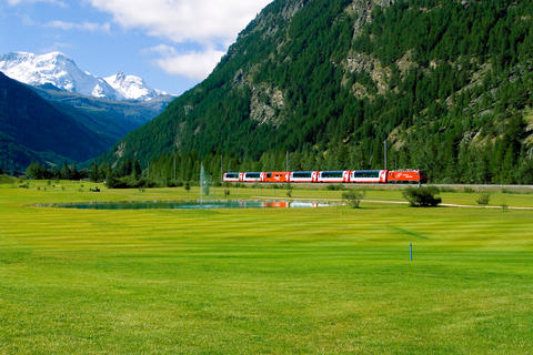 Glacier Express Afternoon Train