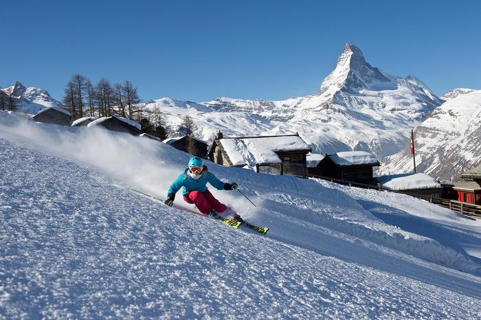 Snowplaza: Zermatt has the best ski resort in Switzerland on