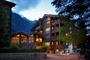 The Hotel Europe is managed by the third generation of the same family and is built from mature timber, stone and glass.