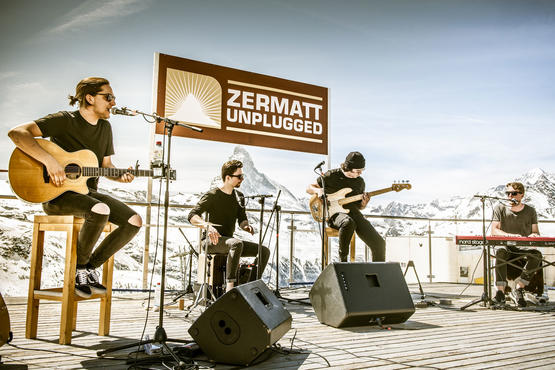 The main program of the 11th Zermatt Unplugged has been confirmed.