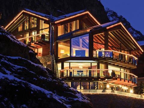 World's best ski chalet