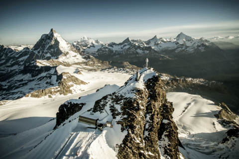 Europe's highest cable car station