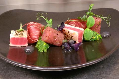 Tuna variation for gourmands
