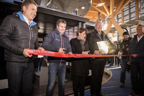 The world's highest 3S cableway is officially inaugurated