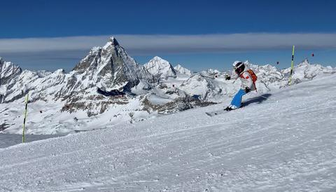First Chinese ski race in Zermatt