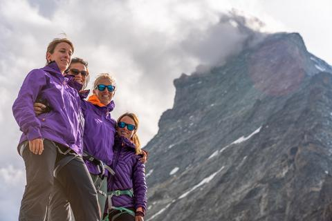 Women smash Matterhorn ascent