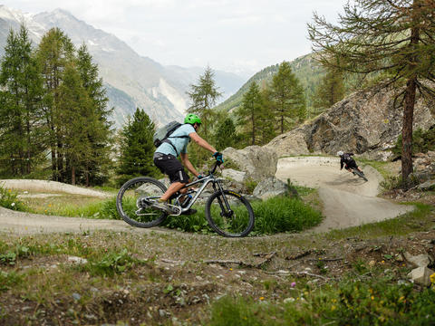 Zermatt opens the longest mountain bike flow trail in Switzerland