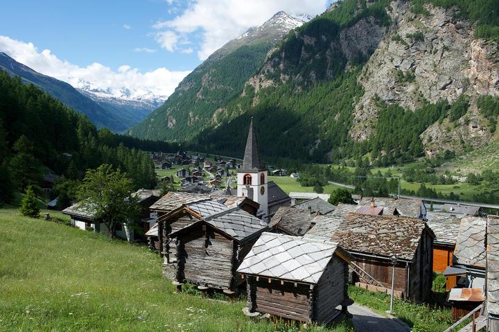Randa In Summer Zermatt Switzerland: Randa Switzerland Map At Slyspyder.com