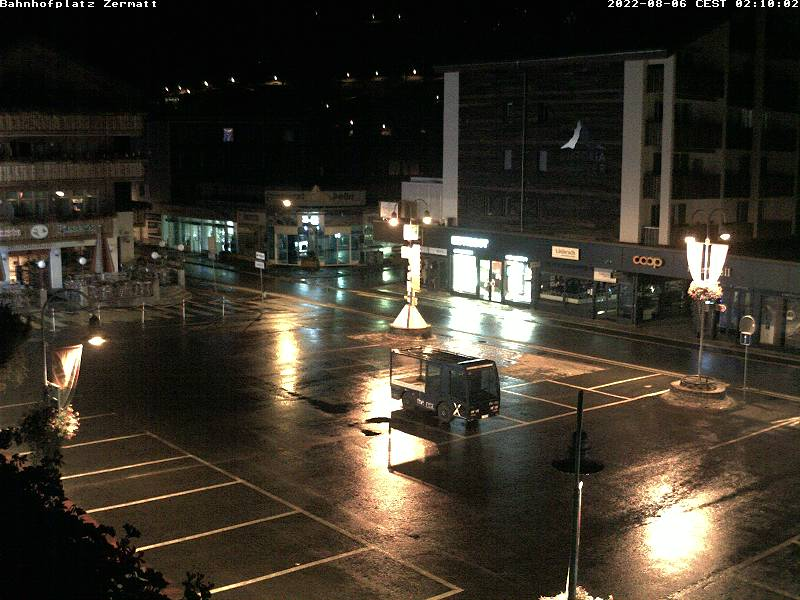 Webcam Zermatt - Place de la Gare