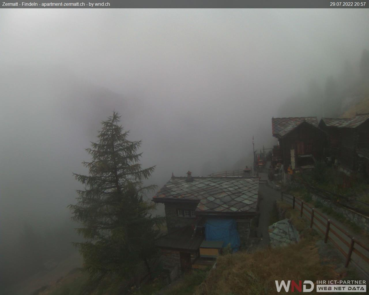 Webcam Findeln Zermatt