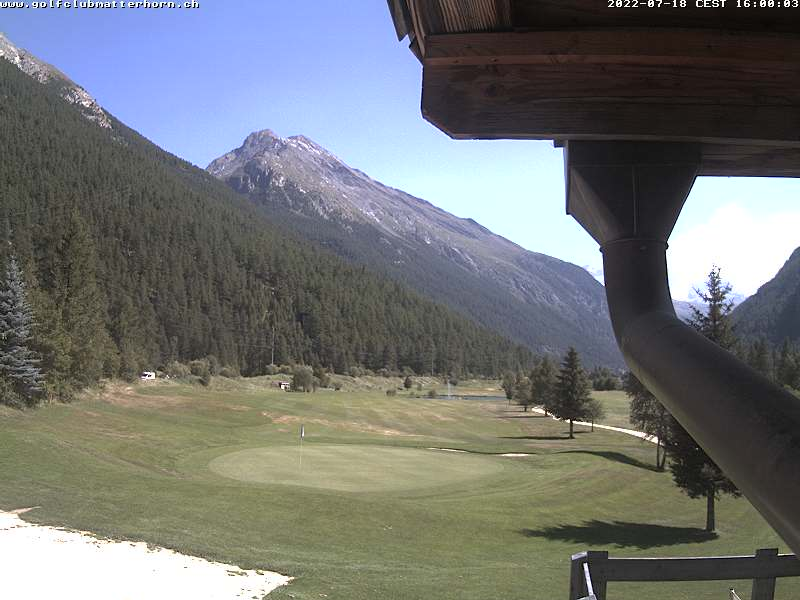Webcam <br><span>webcam Zermatt - GOLF CLUB</span>