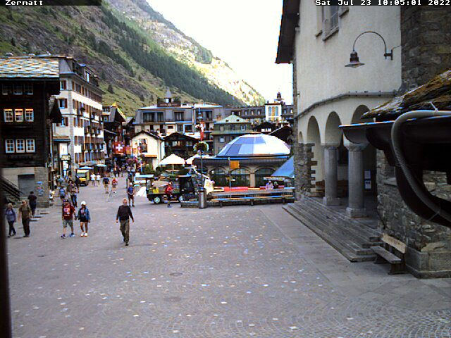 Webcam Zermatt Eglise