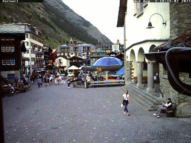 Webcams de Zermatt (Suiza)