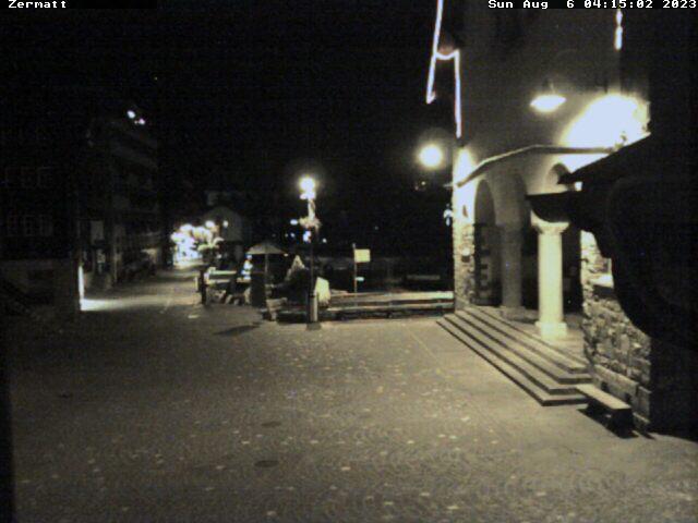 Zermatt - Kirchplatz