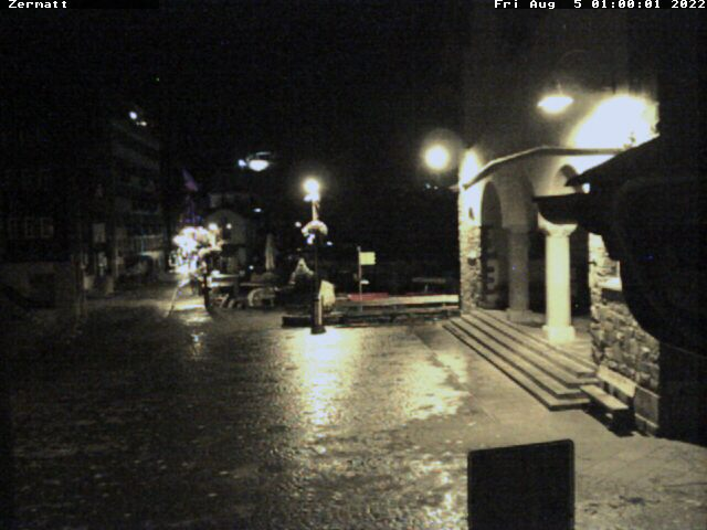 Zermatt Church Square
