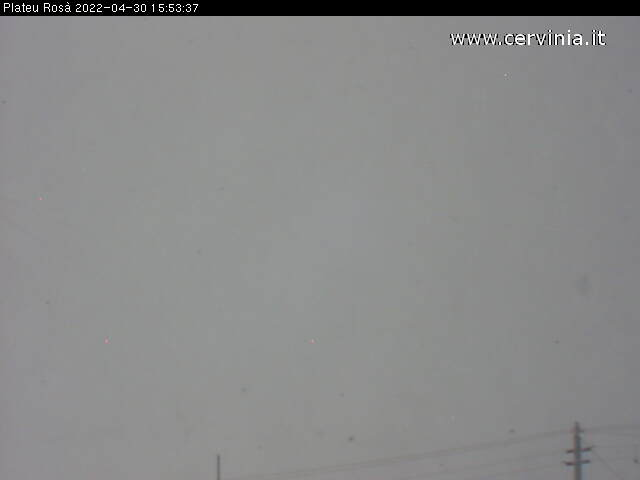 Plateau Rosa (3,480 m) webcam
