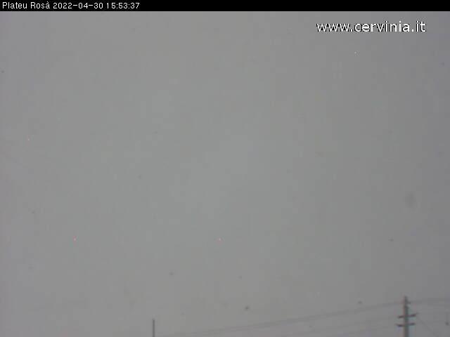 Webcam Zermatt, Plateau Rosà (3'480 m)